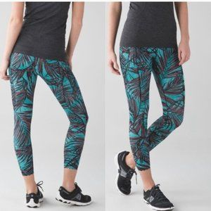 Lululemon Tight Stuff Tight Palm Lace Leggings
